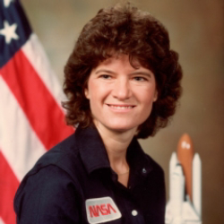 Author Sally Ride