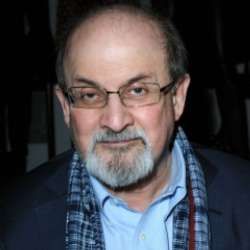 Author Salman Rushdie
