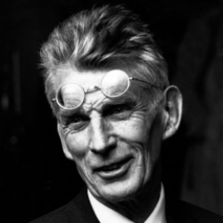 Author Samuel Beckett