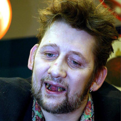 Author Shane MacGowan