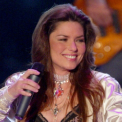 Author Shania Twain
