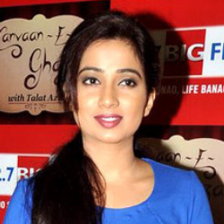 Author Shreya Ghoshal