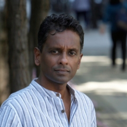 Author Shyam Selvadurai