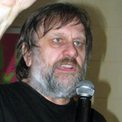 Author Slavoj Zizek