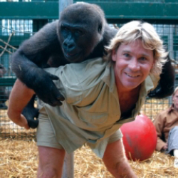 Author Steve Irwin