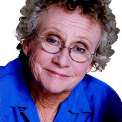 Author Sue Johanson