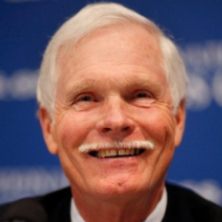Author Ted Turner