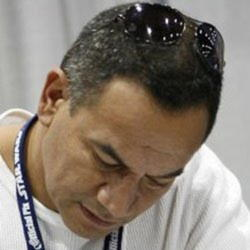 Author Temuera Morrison