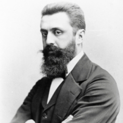Author Theodor Herzl