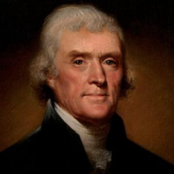Author Thomas Jefferson
