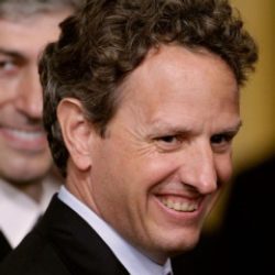 Author Timothy Geithner