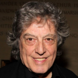 Author Tom Stoppard