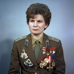 Author Valentina Tereshkova