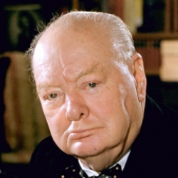 Author Winston Churchill