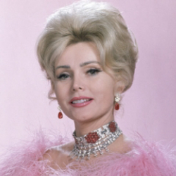 Author Zsa Zsa Gabor