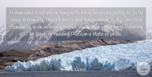 Lying Quotes, C. S. Lewis Quote About Christian, Plato, Lying: A Man Who Is Eating...