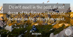 Indian Leader Quotes, Buddha Quote About Dwell, Indian Leader, Life, Mind, Present: Do Not Dwell In The...