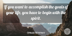 Success Quotes, Oprah Winfrey Quote About Positive, Success, Confidence: If You Want To Accomplish...