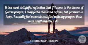 Hope Quotes, Charles Spurgeon Quote About Delightful, God, Hope, Prayers, Thousand: It Is A Most Delightful...
