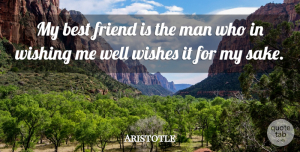 Aristotle Quote About Friendship, Best Friend, True Friend: My Best Friend Is The...