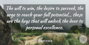 Confucius Quote About Positive, Monday, Attitude: The Will To Win The...