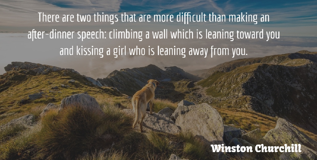 Winston Churchill Quote About Girl, Wall, Humorous: There Are Two Things That...