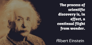 Albert Einstein Quote About Love, Life, God: The Process Of Scientific Discovery...
