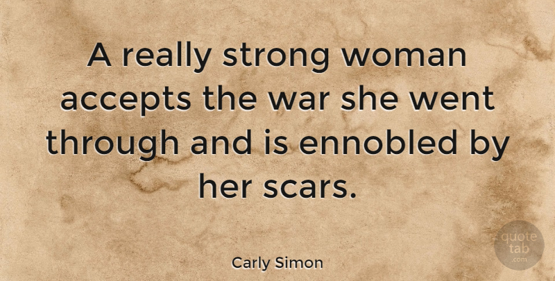 Carly Simon A Really Strong Woman Accepts The War She Went Through