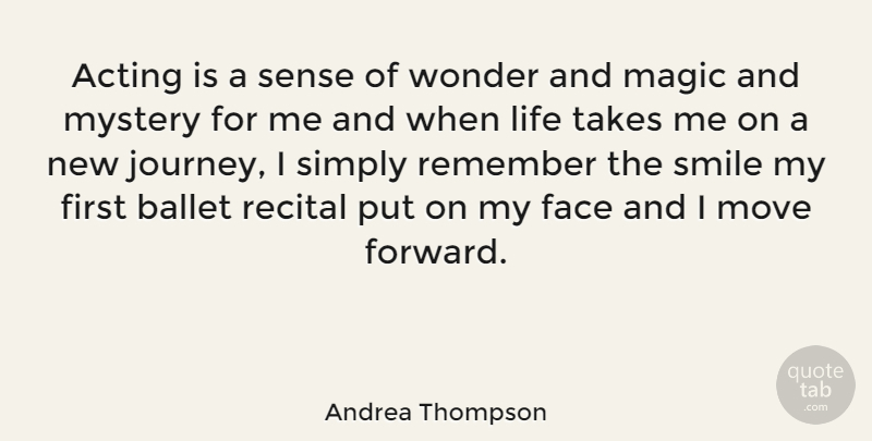 Andrea Thompson Acting Is A Sense Of Wonder And Magic And Mystery