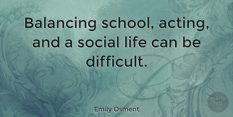 balancing school and social life Fnu news balancing academics and this is a vital component of being successful in college and later on in life the social networks that you develop as a.