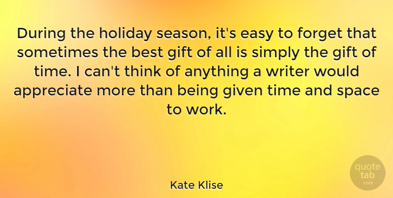 Kate Klise During The Holiday Season Its Easy To Forget That