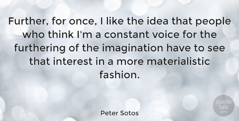 Peter Sotos Further For Once I Like The Idea That People Who