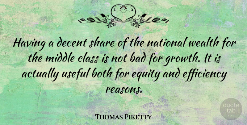 Thomas Piketty: Having a decent share of the national wealth ...