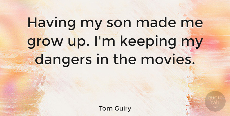 Tom Guiry Having My Son Made Me Grow Up Im Keeping My Dangers In