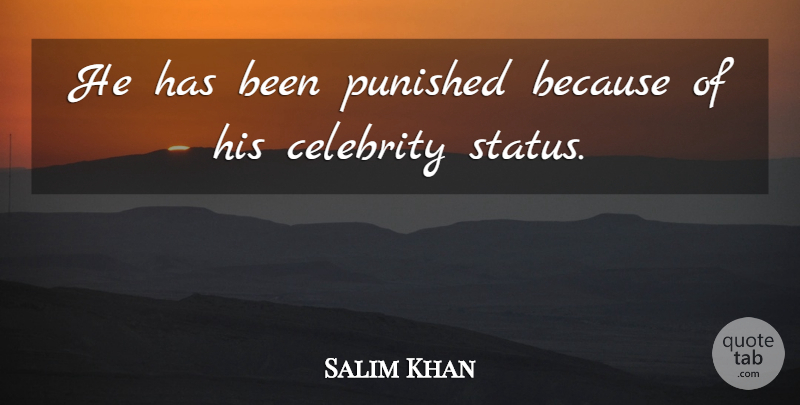 Salim Khan Quote About Celebrity, Punished: He Has Been Punished Because...