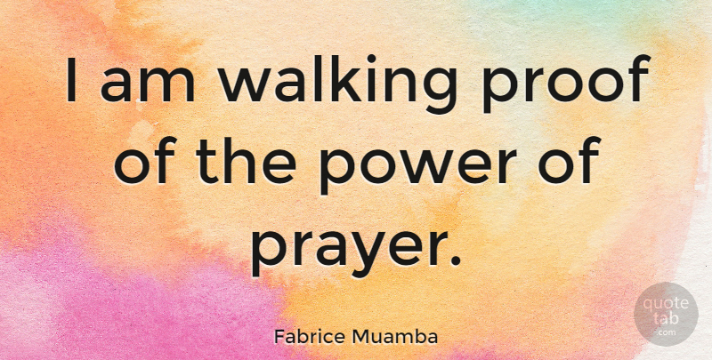 Fabrice Muamba I Am Walking Proof Of The Power Of Prayer Quotetab
