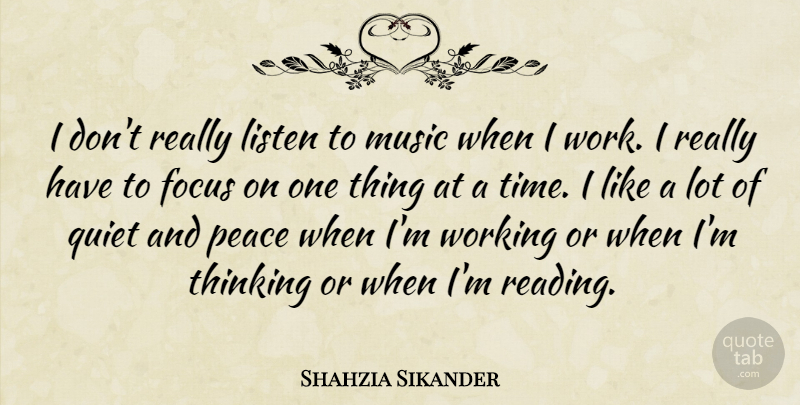 Shahzia Sikander I Dont Really Listen To Music When I Work I