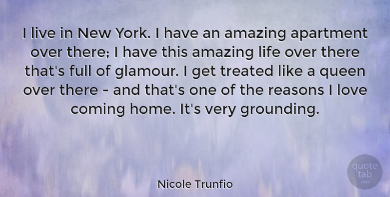 Nicole Trunfio I Live In New York I Have An Amazing Apartment Over