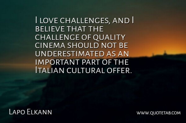 Lapo Elkann I Love Challenges And I Believe That The Challenge Of