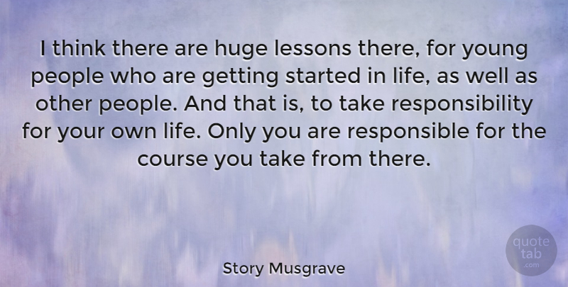 Story Musgrave I Think There Are Huge Lessons There For Young