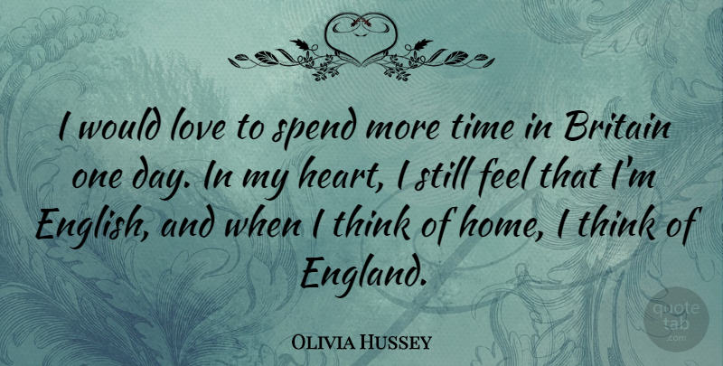 Olivia Hussey I Would Love To Spend More Time In Britain One Day
