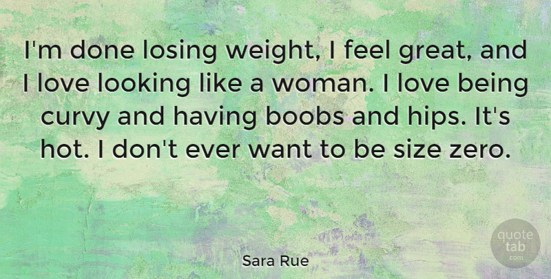 Sara Rue Im Done Losing Weight I Feel Great And I Love Looking