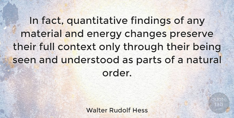 Walter Rudolf Hess In Fact Quantitative Findings Of Any Material