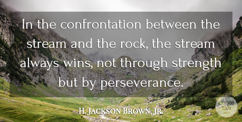 H Jackson Brown Jr In The Confrontation Between The