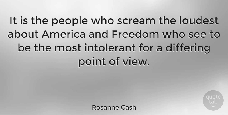 Rosanne Cash Quote About America, Views, People: It Is The People Who...