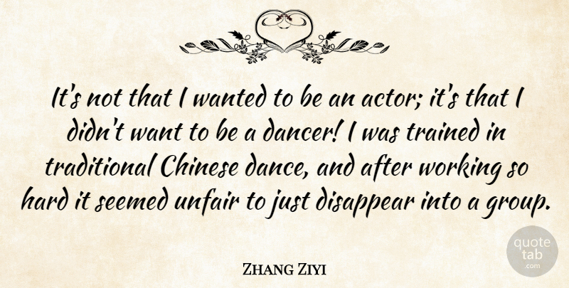 Zhang Ziyi Its Not That I Wanted To Be An Actor Its That I Didn