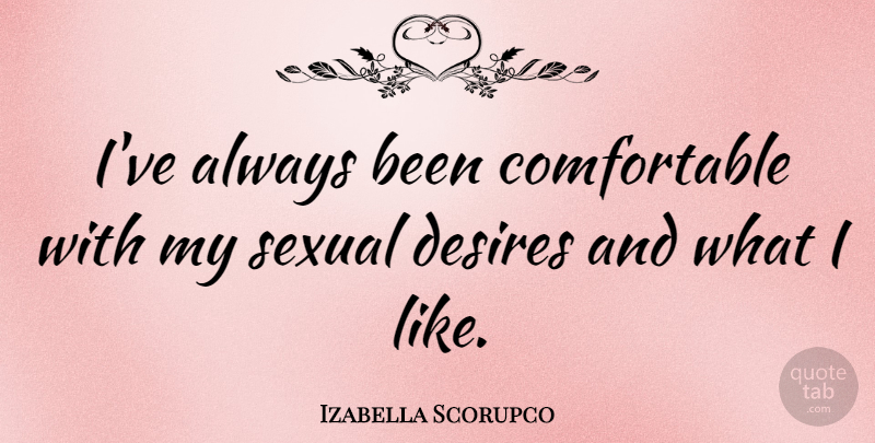 Izabella Scorupco Ive Always Been Comfortable With My Sexual