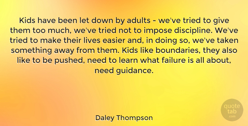 Daley Thompson Kids Have Been Let Down By Adults Weve Tried To