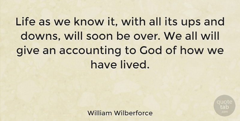 William Wilberforce Life As We Know It With All Its Ups And Downs