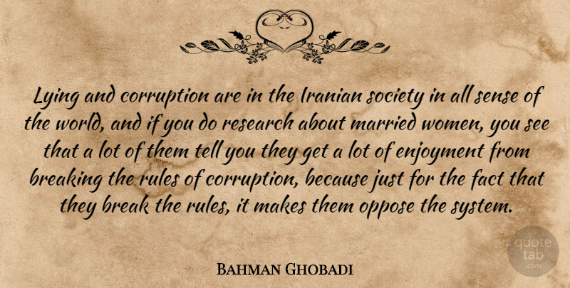 Bahman Ghobadi Lying And Corruption Are In The Iranian Society In